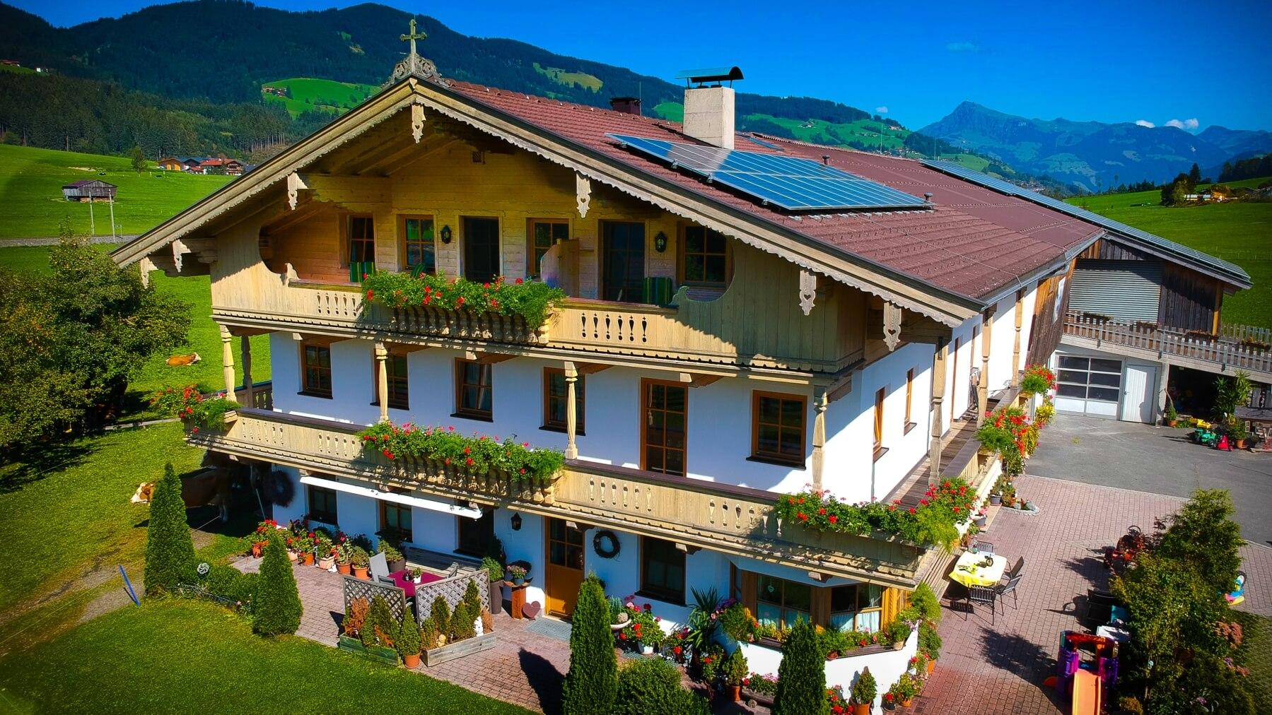 Appartement Steindl - Brixen im Thale - in den Kitzbheler Alpen